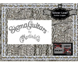 Sigma Guitar by Martin & Co. Guitar Decal 135s