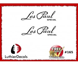 Gibson Les Paul Special Guitar Decal #165