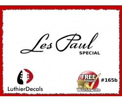Gibson Les Paul Special Guitar Decal #165b