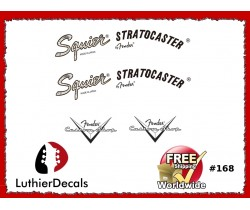 Squier Stratocaster Guitar Decal #168