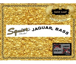 Squier Jaguar Bass Guitar Decal 16g