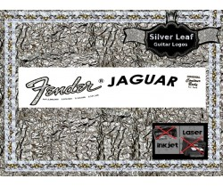 Fender Jaguar Guitar Decal 17s