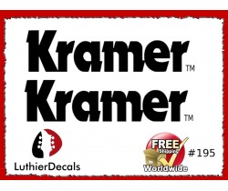 fa6c8309c50 Guitar Decals Restoration Logos - Kramer Decals