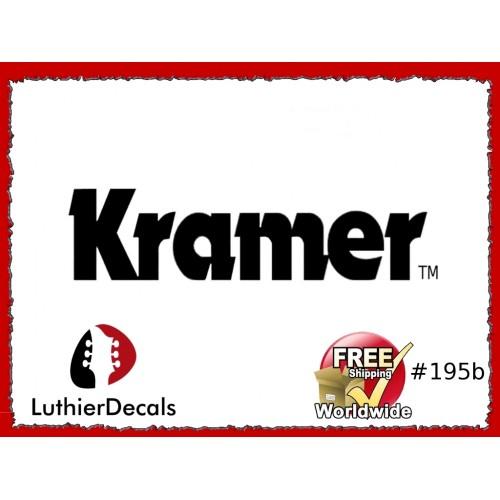 eec57c9f335 Guitar Decals Restoration Logos - Kramer Guitar Decal  195b