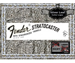 Fender Stratocaster Guitar Decal 21s