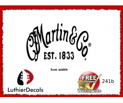 Martin & Co. Guitar Decal 241b