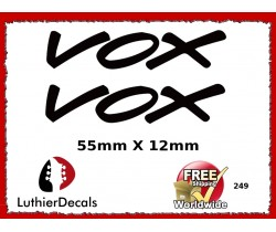 Vox Guitar Decal 249