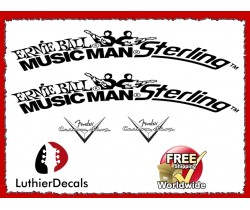Musicman Ernie Ball Guitar Decal #25