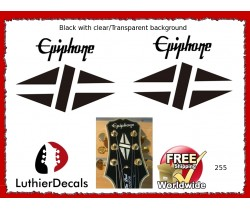 Epiphone Gibson Guitar Decal 255