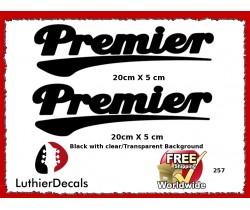 Premier Drum Skin Decal 257