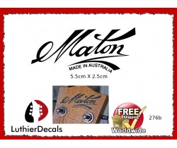 Maton Made in Australia Guitar Decal 276b