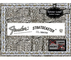Fender Stratocaster Guitar Decal #32s