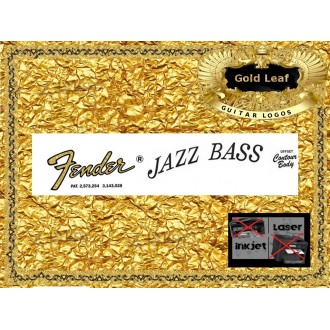 Fender Jazz Bass Guitar Decal #34g