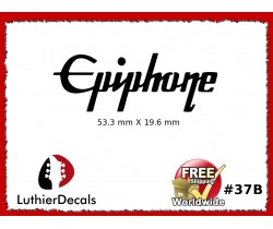 Epiphone Guitar Decal Waterslide #37b