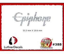 Epiphone Guitar Decal Waterslide #38b