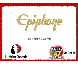 Epiphone Guitar Decal Waterslide #39b