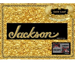 Jackson Guitar Decal 3g
