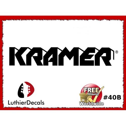 80ef351ffa8 Guitar Decals Restoration Logos - Kramer Guitar Decal  40b