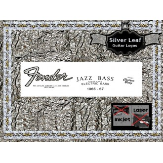 Fender Jazz Bass Guitar Decal 40s