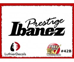 Ibanez Guitar Decal #42b