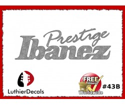 Ibanez Guitar Decal #43b