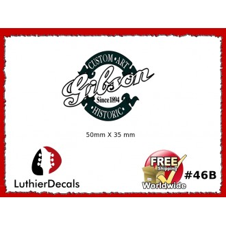 Gibson Decal Guitar Decal #46b