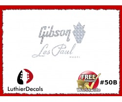 Gibson Decal Les Paul Guitar Decal #50b