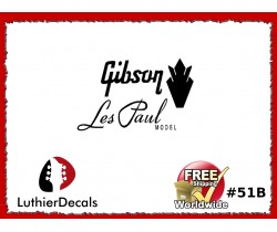 Gibson Decal Les Paul Guitar Decal #51b