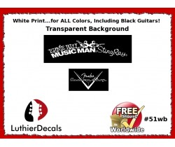 Musicman Guitar Decal #51wb
