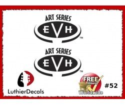 Charvel Art Series Guitar Decal #52