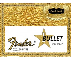 Fender Bullet Guitar Decal Waterslide #59g