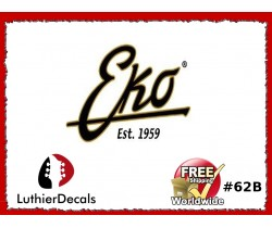EKO Guitar Decal Copy #62B