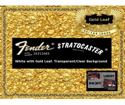 Fender Stratocaster Guitar Decal 71gw