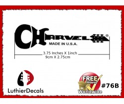Charvel Guitar Decal Waterslide #76b