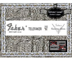 Faker Telefaker Guitar Decal 80s