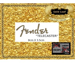 Fender Telecaster Guitar Decal #83g