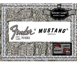 Fender Mustang Decal Guitar Decal #84s