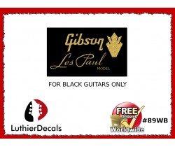 Gibson Decal Les Paul Guitar Decal #89wb
