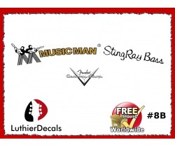 Musicman Guitar Decal #8b