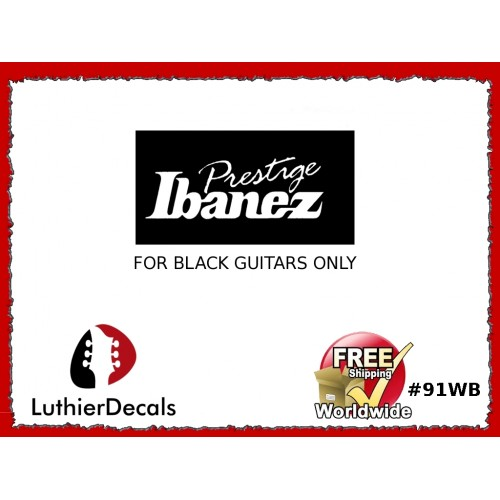 Ibanez Guitar Decal #91wb