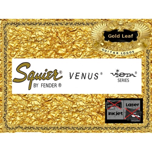 Squier Venus Vista Guitar Decal #91g