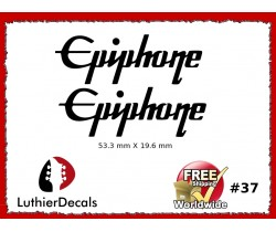 Epiphone Guitar Decal #37
