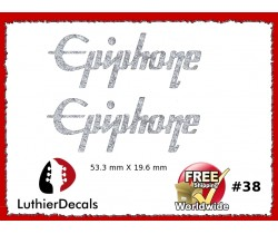Epiphone Guitar Decal #38