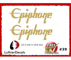Epiphone Guitar Decal #39
