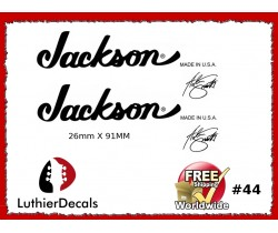 Jackson Guitar Decal #44