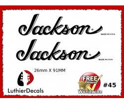 Jackson Guitar Decal #45