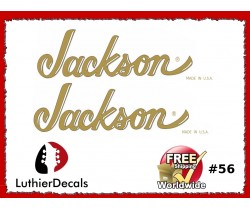 Jackson Guitar Decal #56