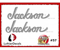 Jackson Guitar Decal #57
