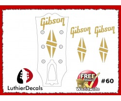 Gibson Guitar Decal #60