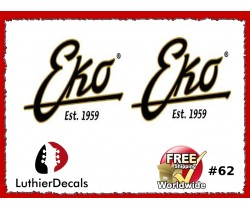 EKO Guitar Decal #62